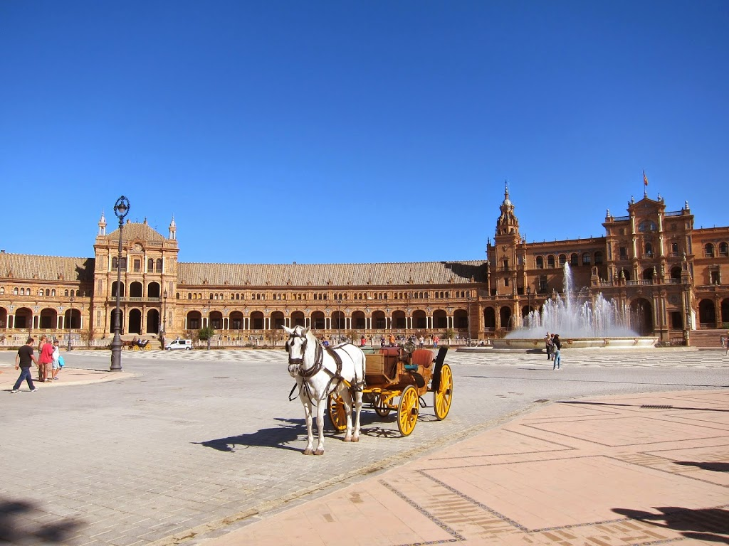 Sightseeing In Seville, Spain