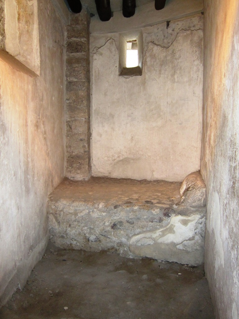 A bed in the brothel