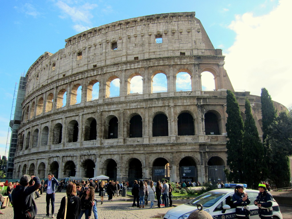 Colosseum and the Roman Forum